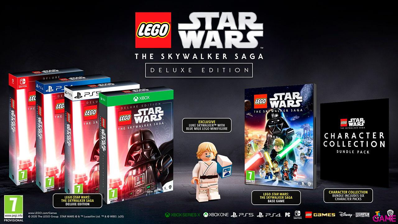 LEGO Star Wars: La Saga Skywalker Deluxe Edition