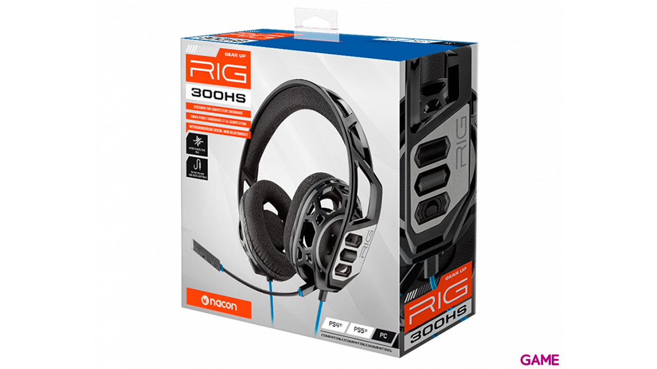 Auriculares Plantronics Rig 300HS - Auriculares Gaming