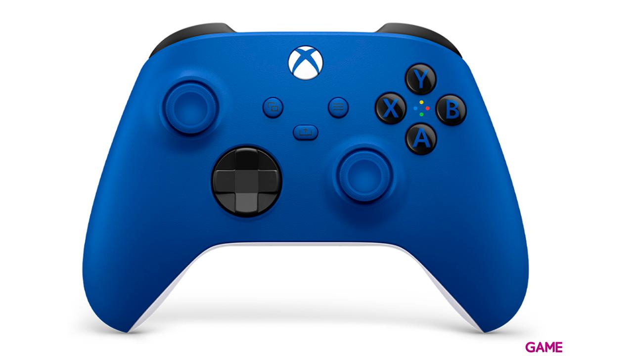 Controller Inalambrico Microsoft Shock Blue