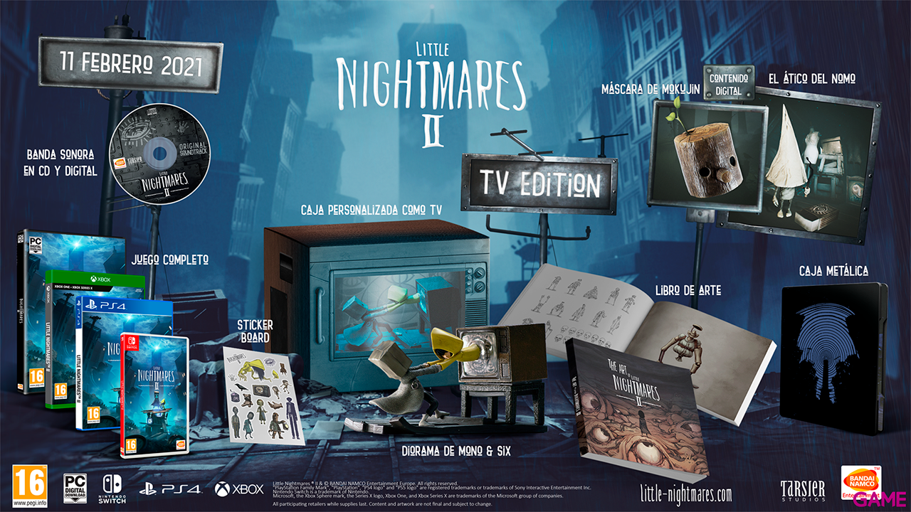 Little Nightmares II Edicion TV