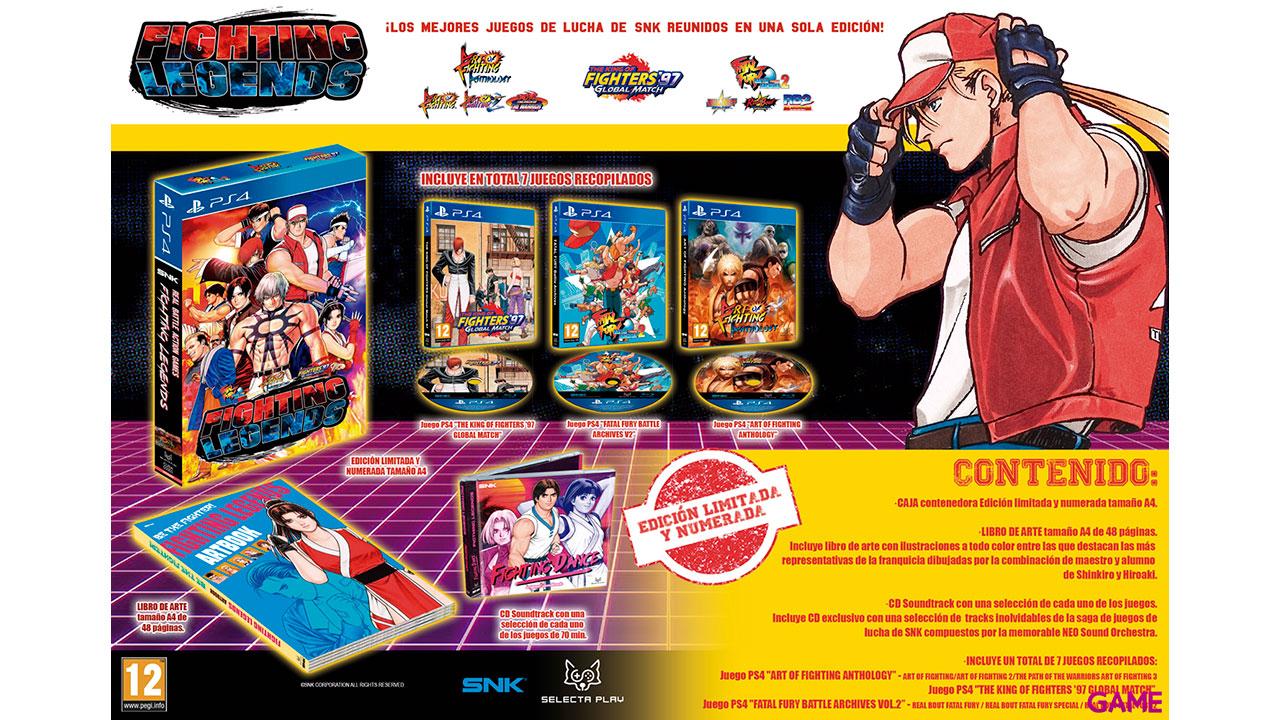Fighting Legends - Edición Coleccionista