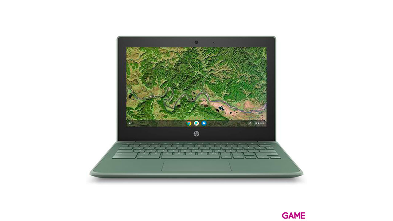 HP Chromebook 11A G8 - A4-9120 - 4GB - 32GB - 11,6'' - Chrome - Portatil