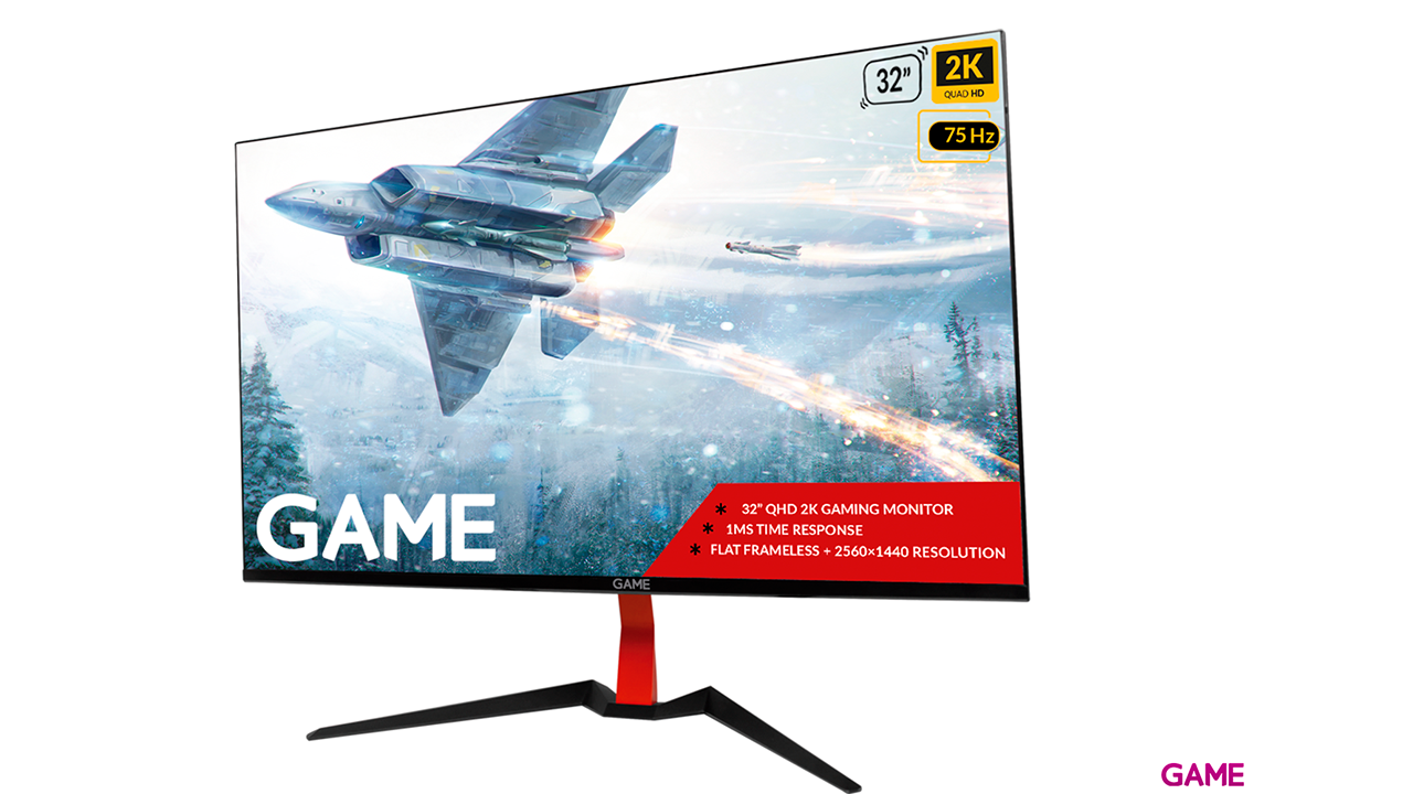 GAME M32E2K 32'' VA QHD 2K 75Hz Con Altavoces - Monitor Gaming