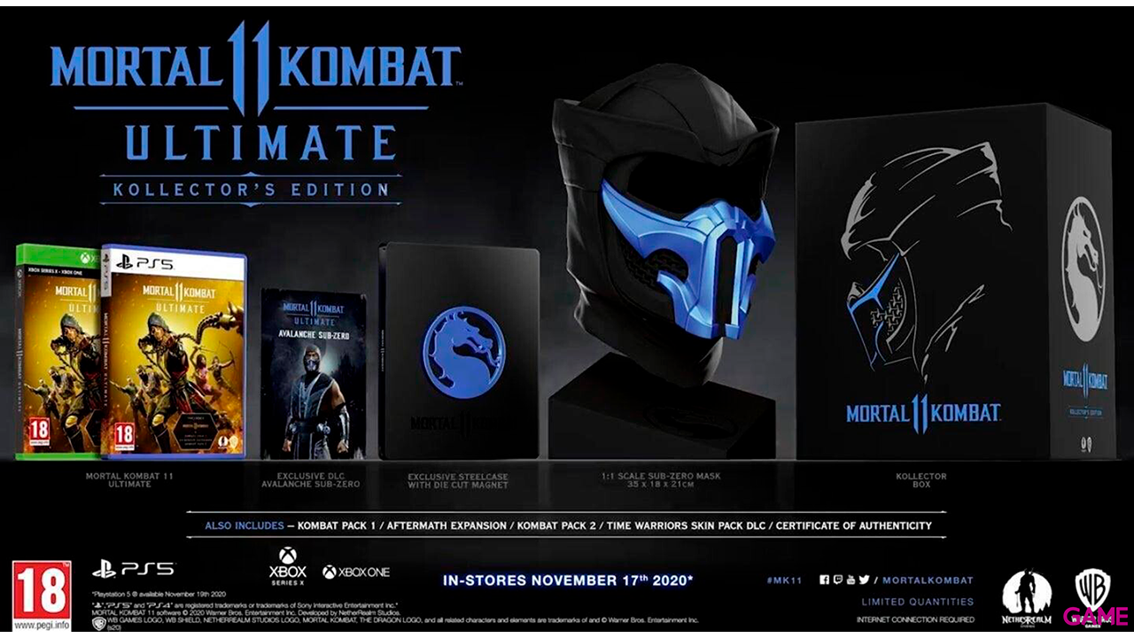 Mortal Kombat 11 Ultimate Kollector's Edition