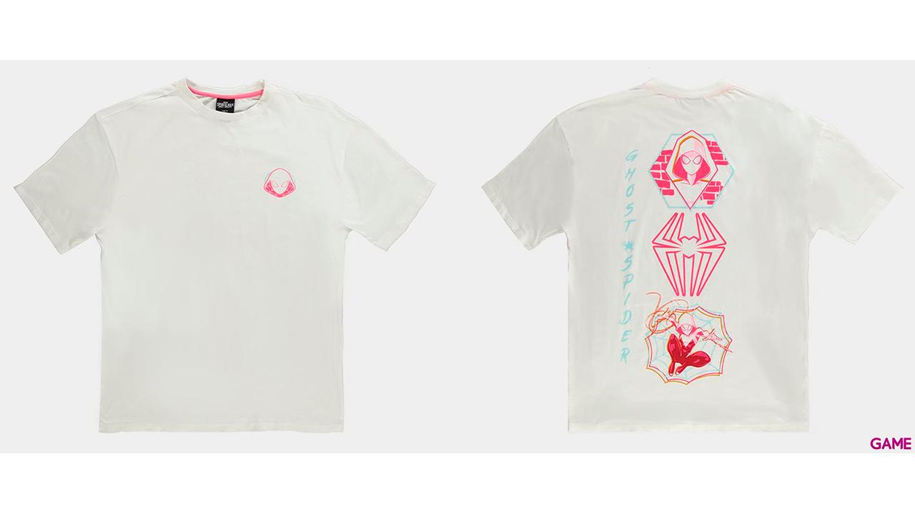 Camiseta Spider Gwen Talla XL Mujer