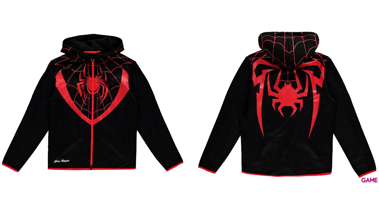 Sudadera Spider-Man Miles Morales Talla XL