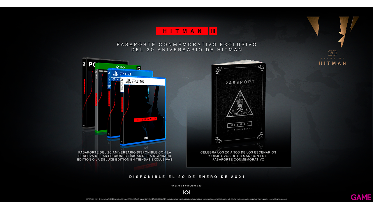 Hitman III Deluxe Edition - XONE & XSX