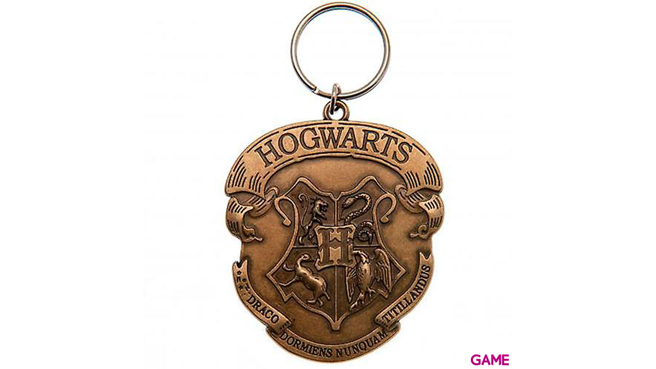Llavero de Metal Harry Potter: Hogwarts