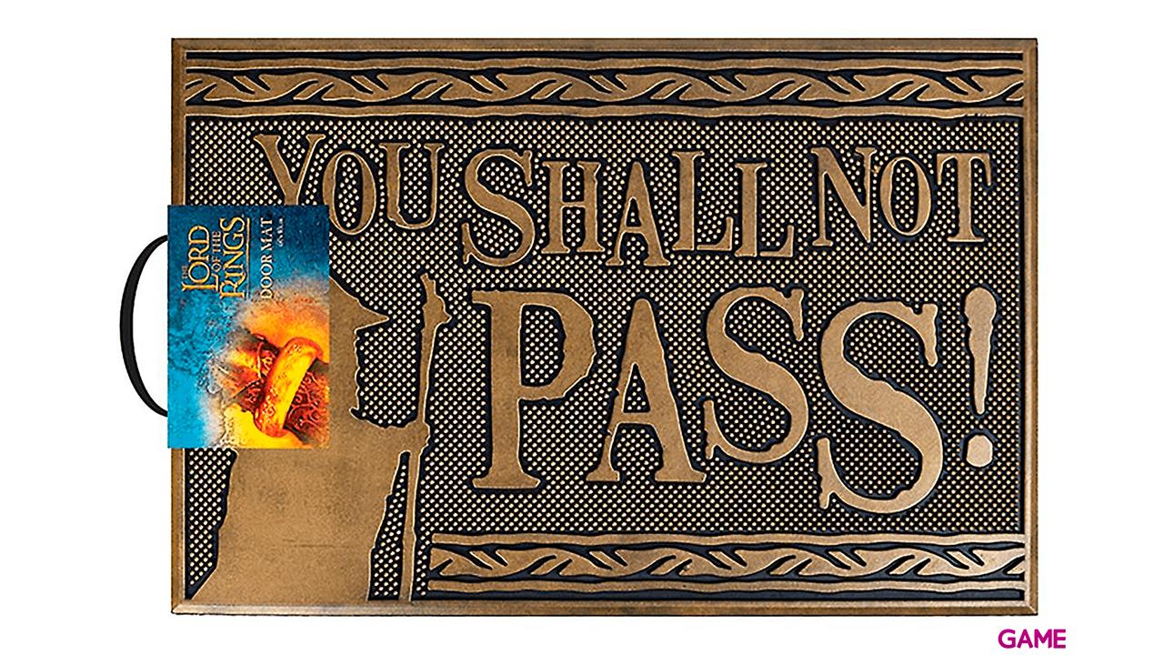 Felpudo de Goma ESDLA: You Shall Not Pass!