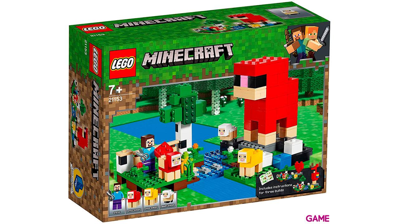 LEGO Minecraft: La Granja de Lana