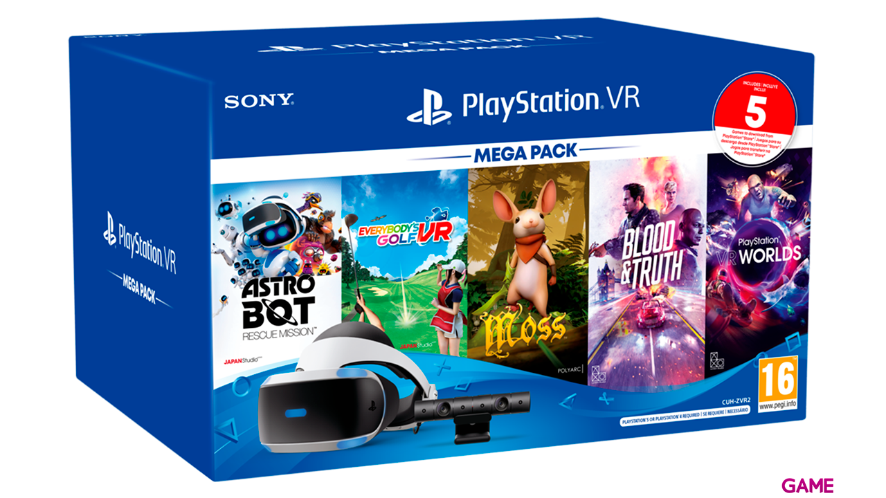 Playstation VR Megapack 3