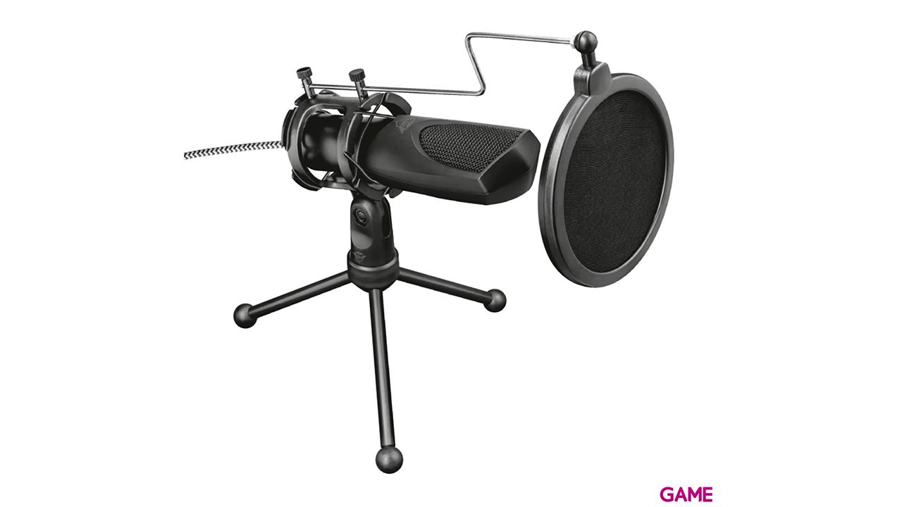 TRUST GXT232 Mantis Omnidirectional - Micrófono Gaming