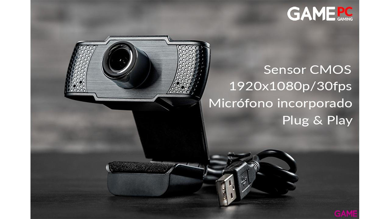 GAME WX200 1080P FullHD Webcam