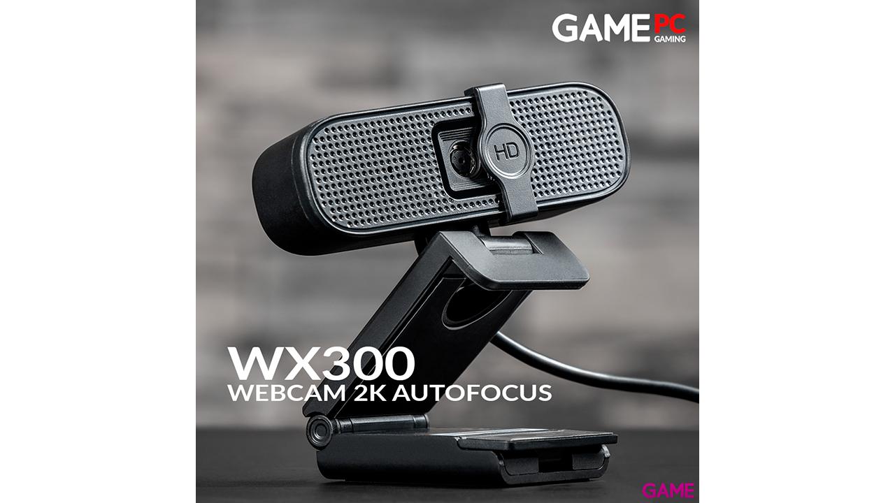 GAME WX300 2K AutoFocus Webcam