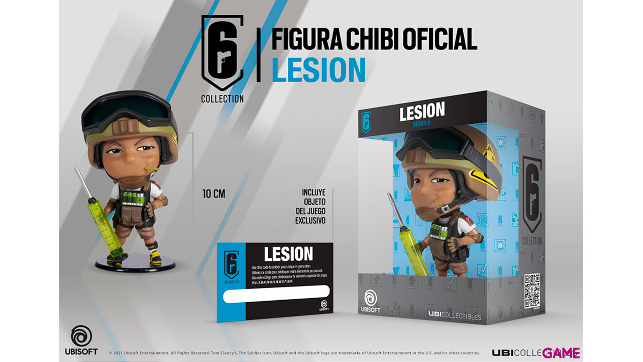 Figura Six Collection Series 6 Lesion Chibi