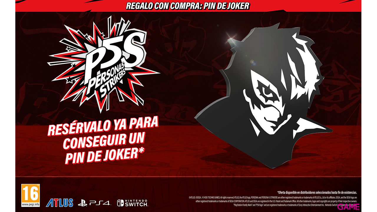 Persona 5 Strikers Limited Edition