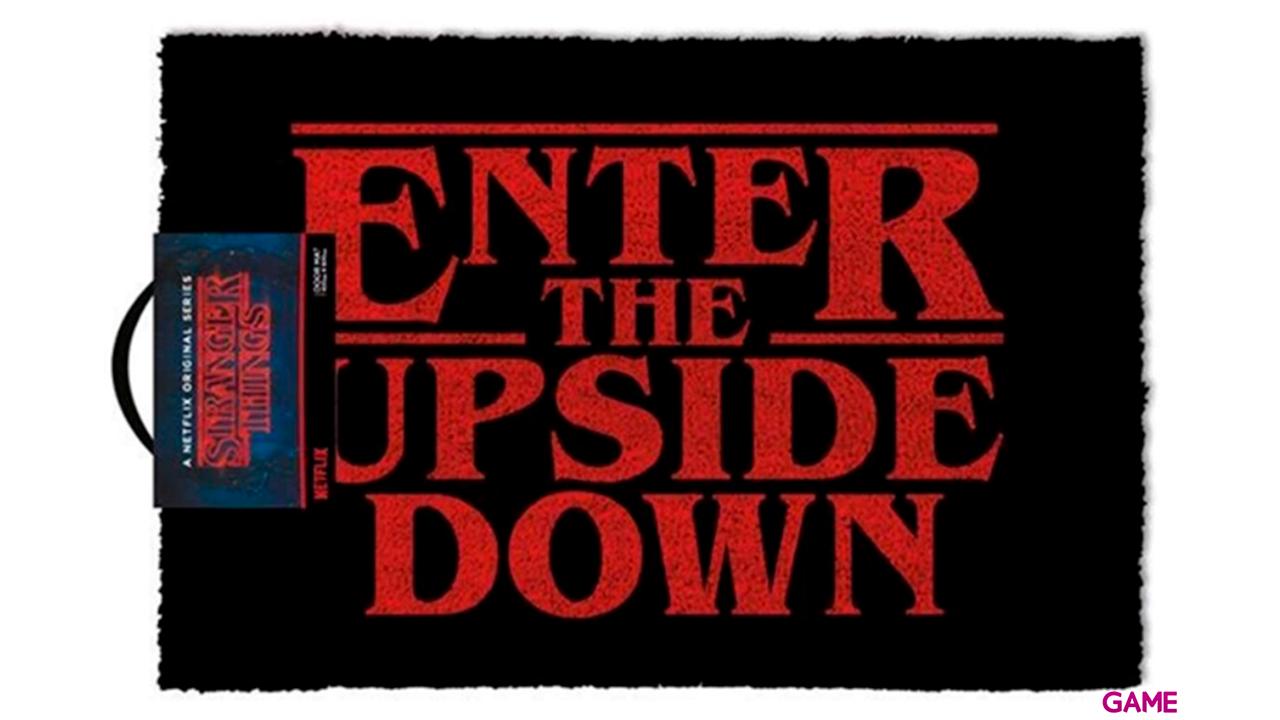 Felpudo Stranger Things: Enter the Upside Down