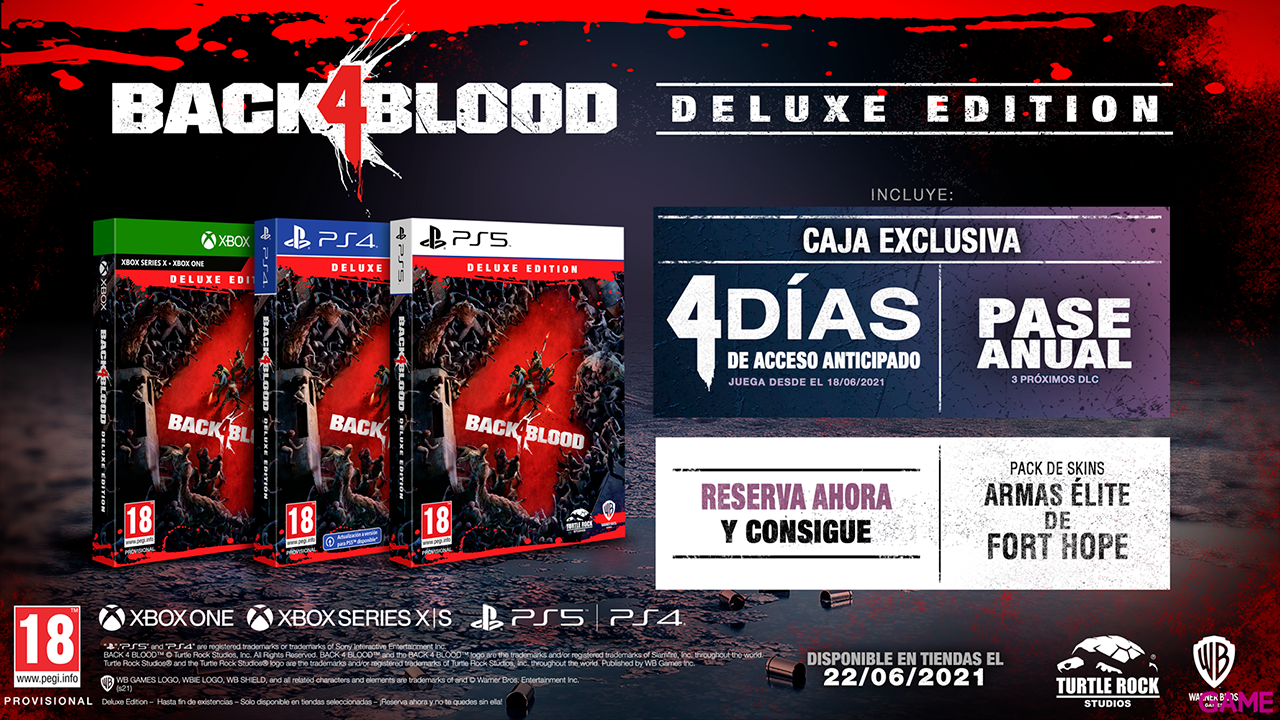 Back 4 Blood Deluxe Edition