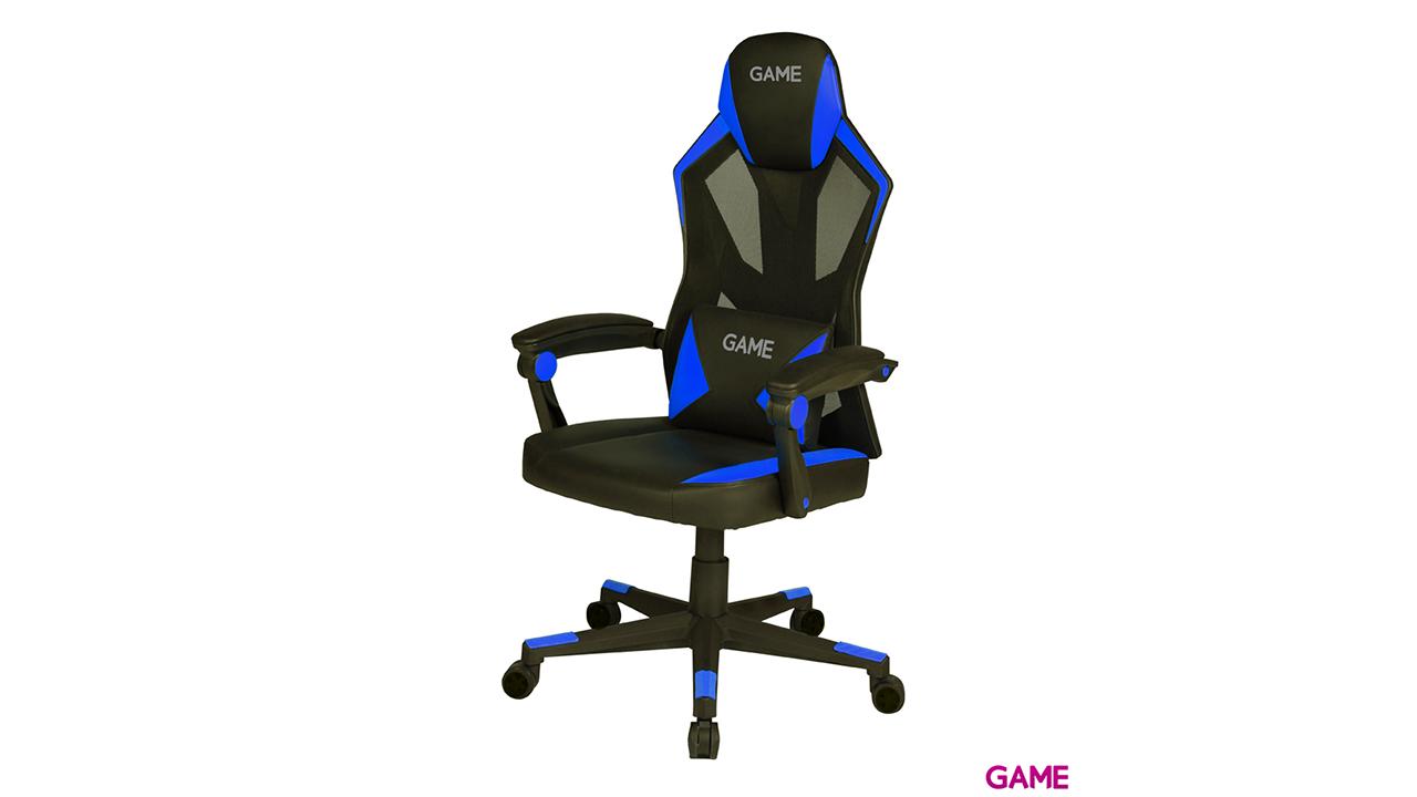 GAME Racing AIR AF210 Azul - Negro - Silla Gaming