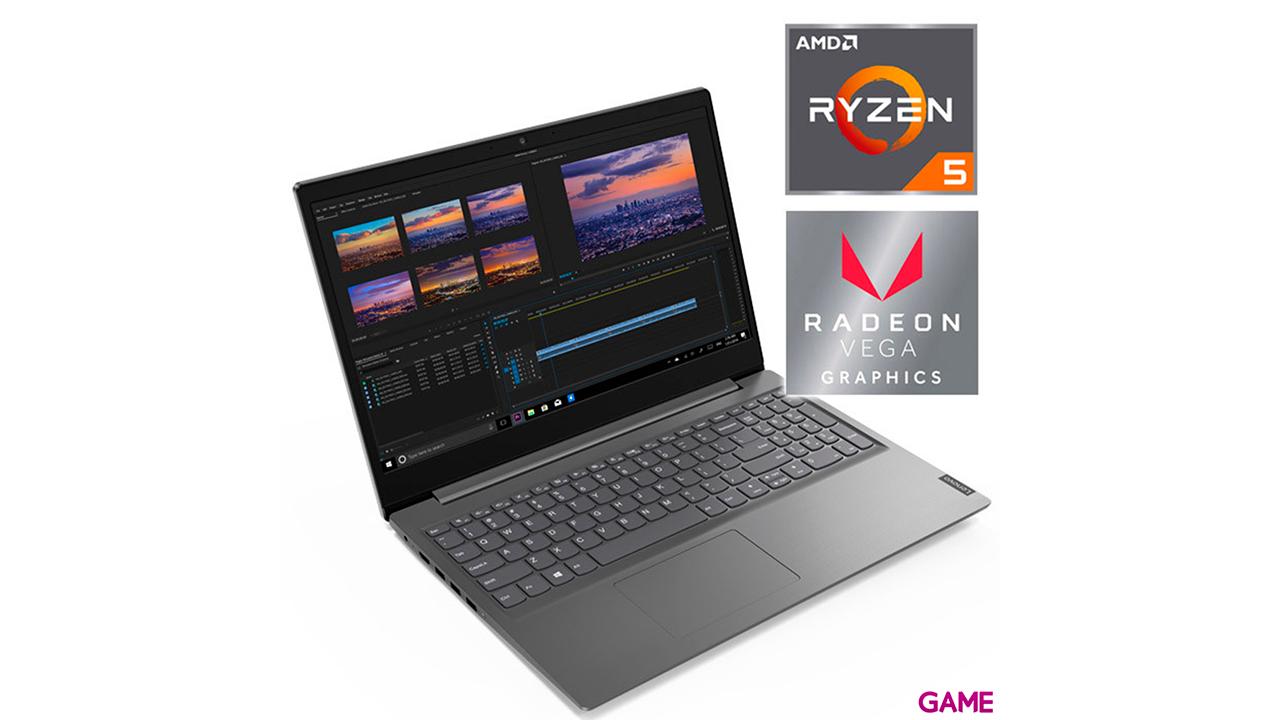 Lenovo V15-ADA - Ryzen 5-3500U - 8GB - 256GB SSD - 15,6'' - W10 - Portatil