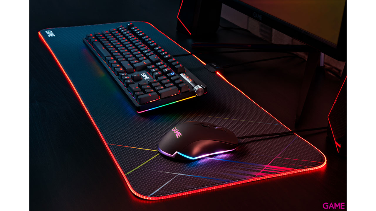 GAME MM520 RGB Extended - Alfombrilla Gaming