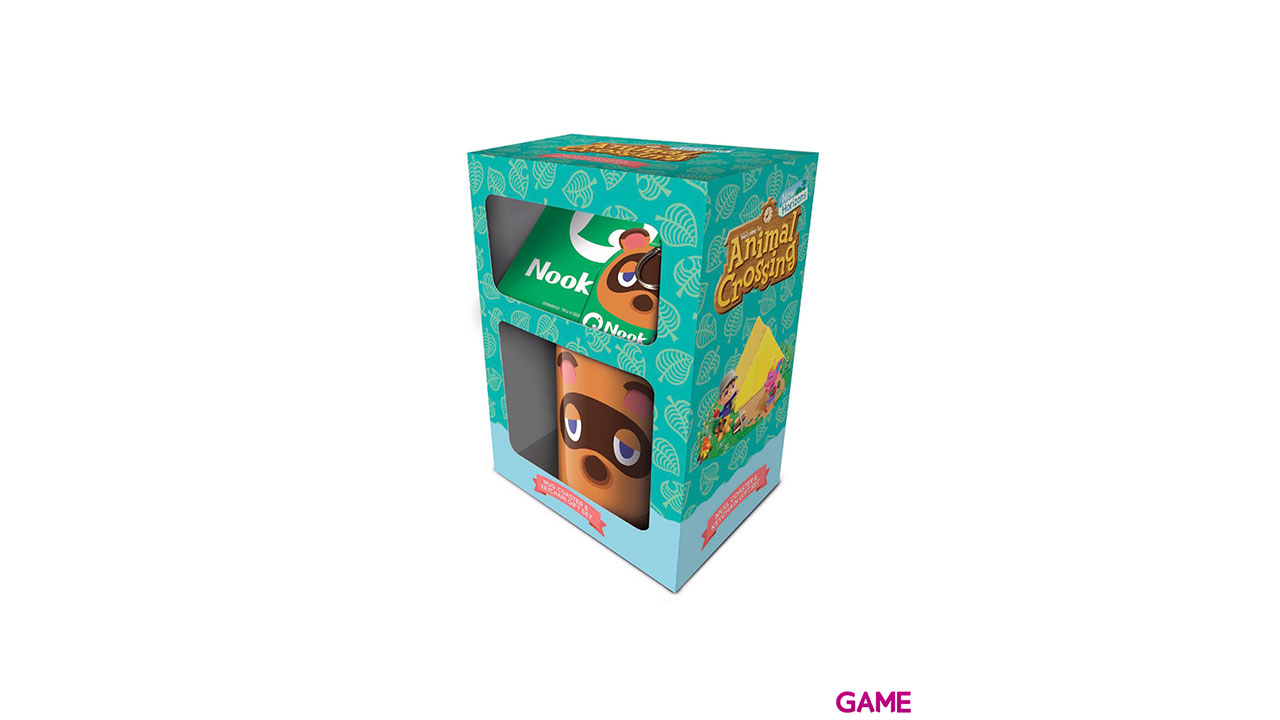 Caja de Regalo Animal Crossing: Tom Nook