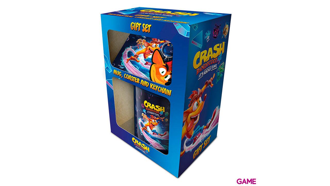 Caja de Regalo Crash Bandicoot 4