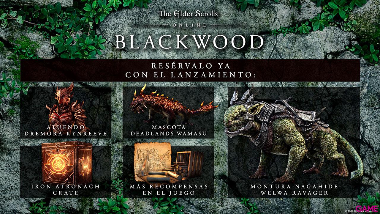 The Elder Scrolls Online Collection Blackwood