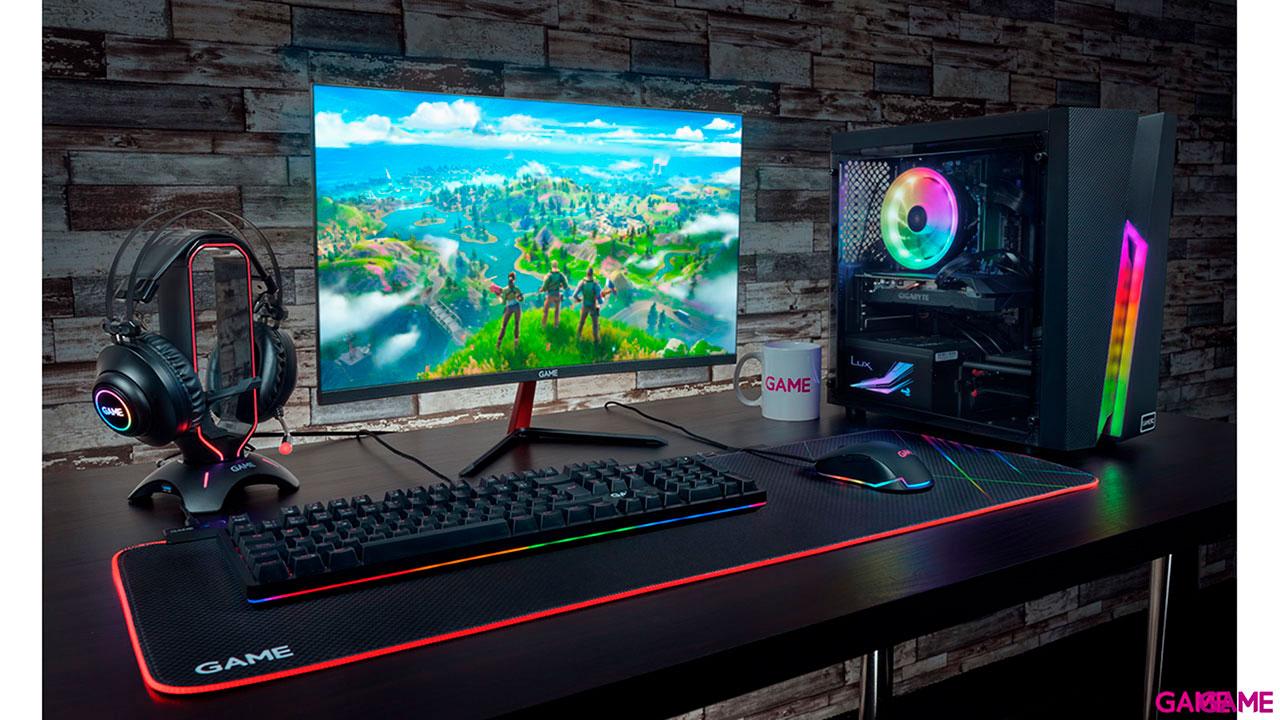 GAMEPC G522T - I5-10400F - GTX 1660 SUPER - 16GB RAM - 480GB - Ordenador Sobremesa Gaming