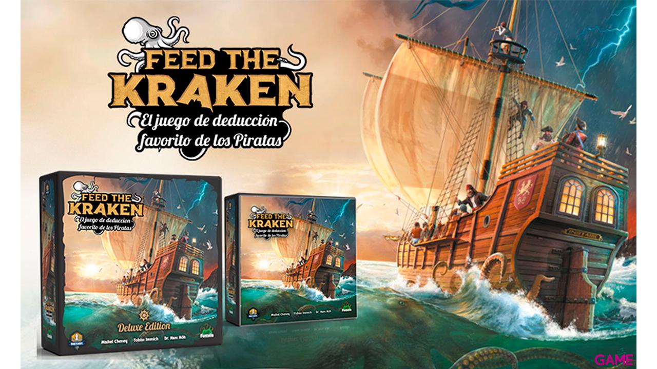 Juego de Mesa Feed the Kraken Edición Deluxe