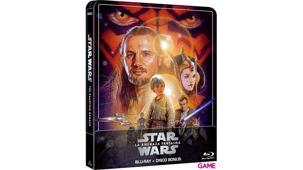 Star Wars La Amenaza Fantasma Edición Steelbook 2021