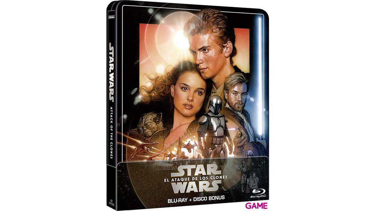 Star Wars El Ataque de los Clones Edición Steelbook 2021