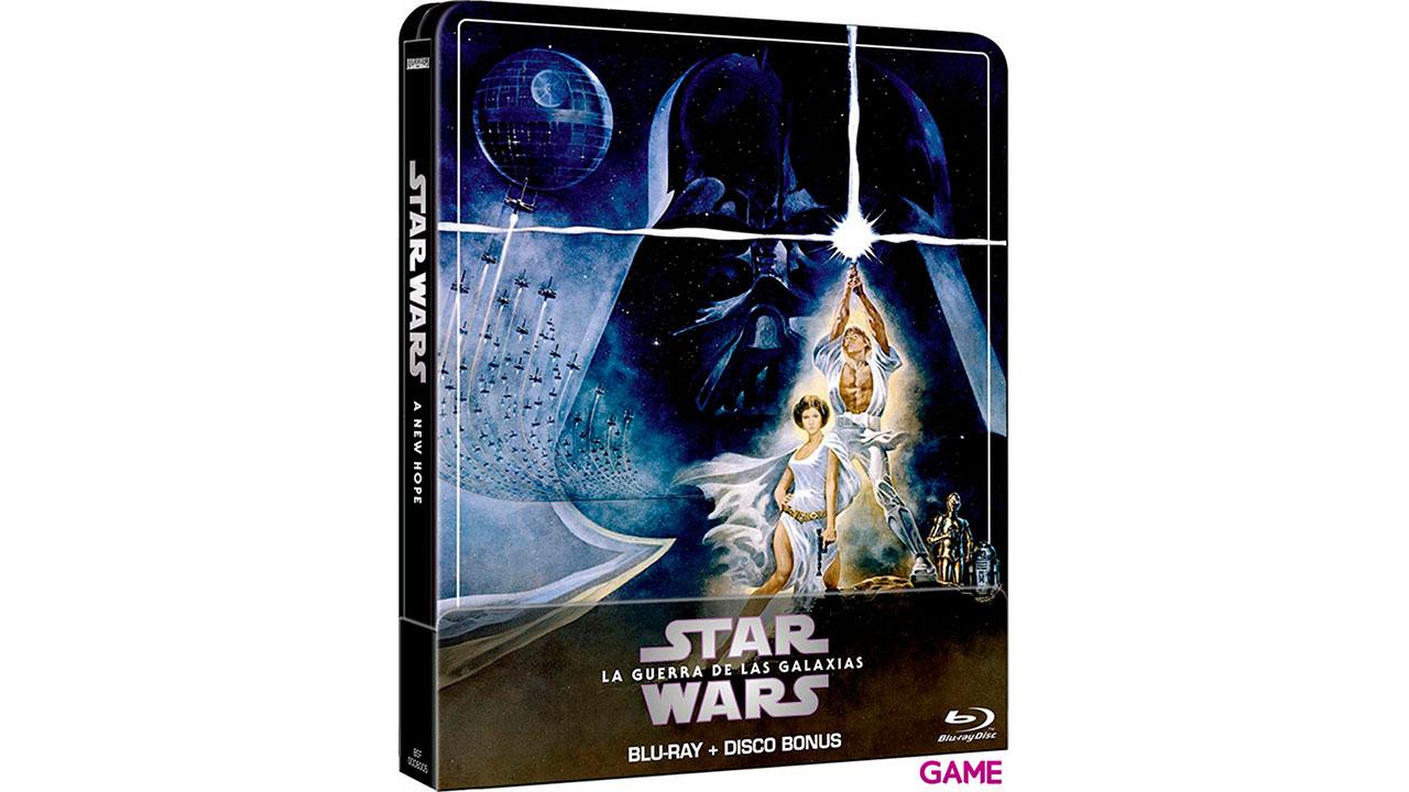 Star Wars Una Nueva Esperanza Edición Steelbook 2021