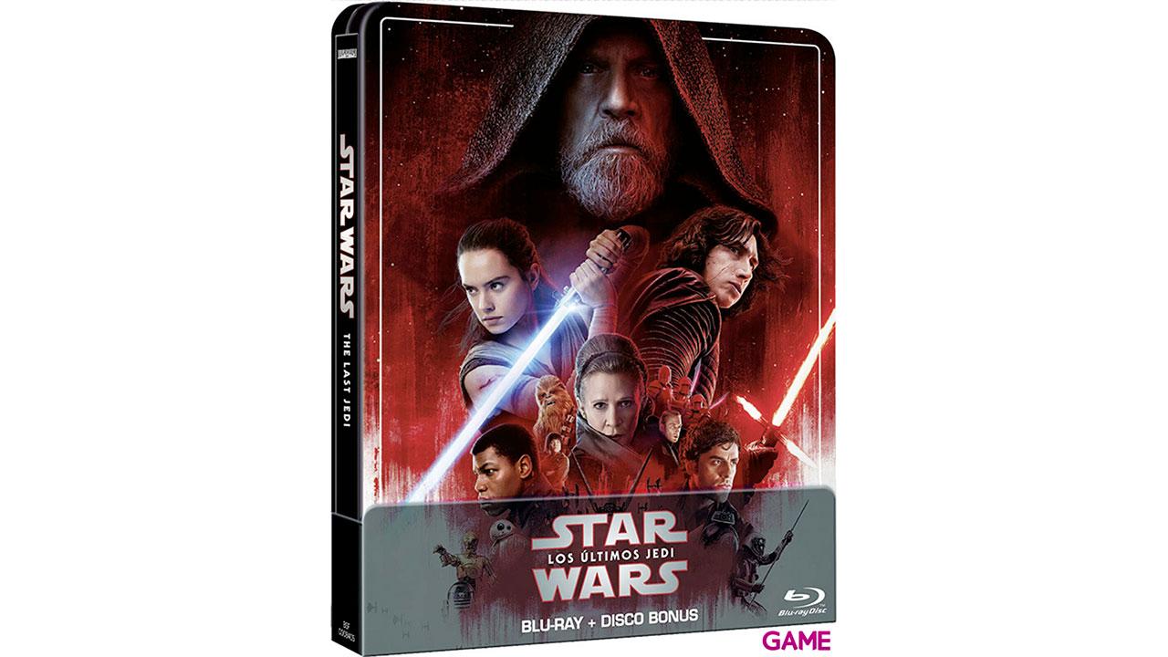 Star Wars Los Últimos Jedi Edición Steelbook 2021