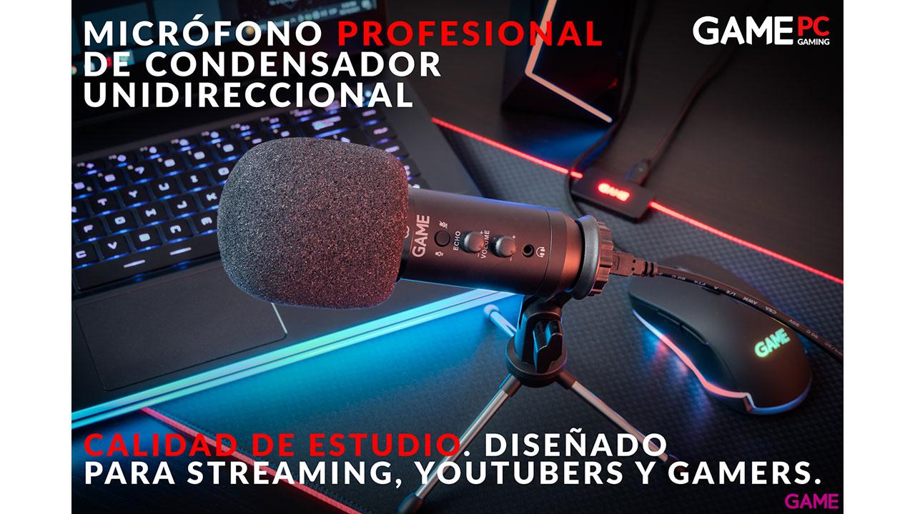 GAME MIC320 USB Advanced Streaming Microphone - Micrófono