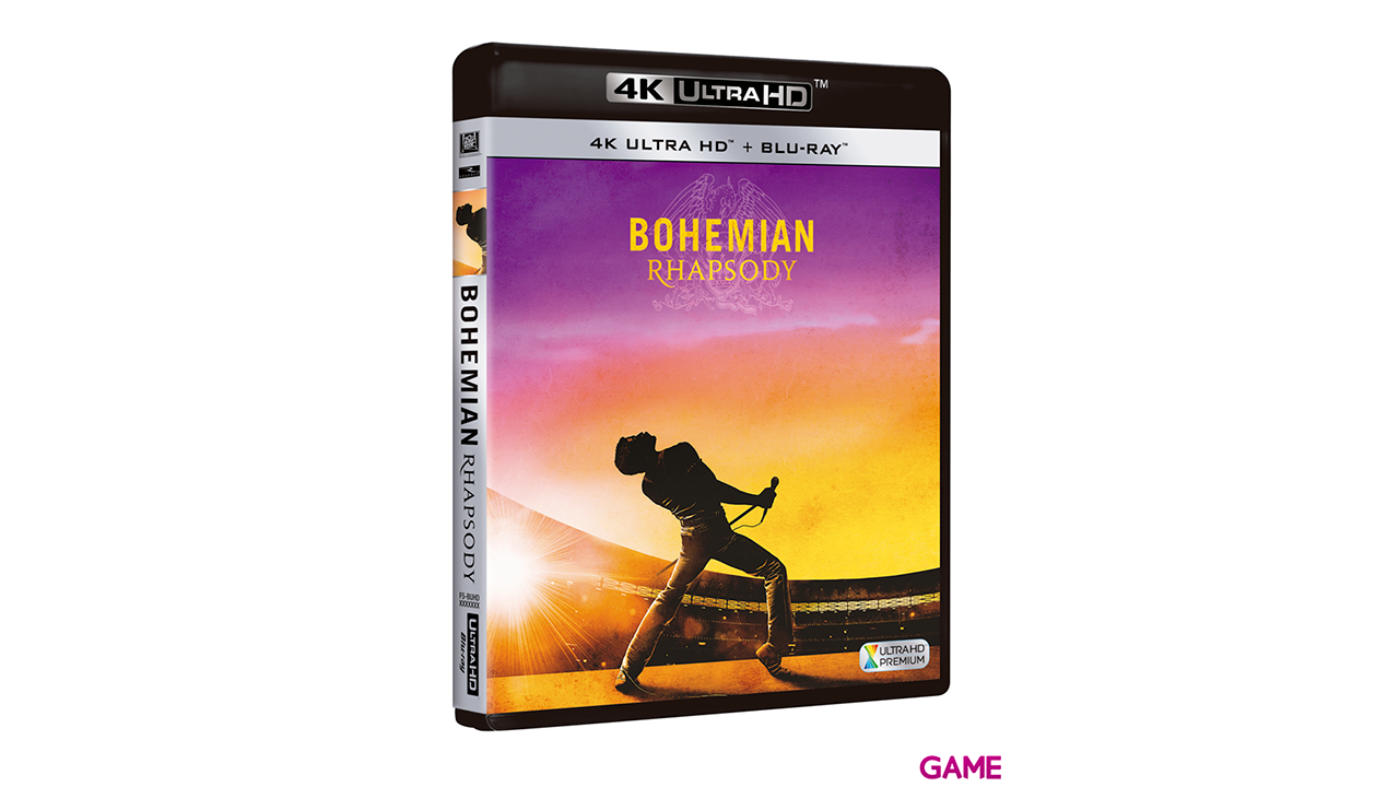 Bohemian Rhapsody 4K + BD
