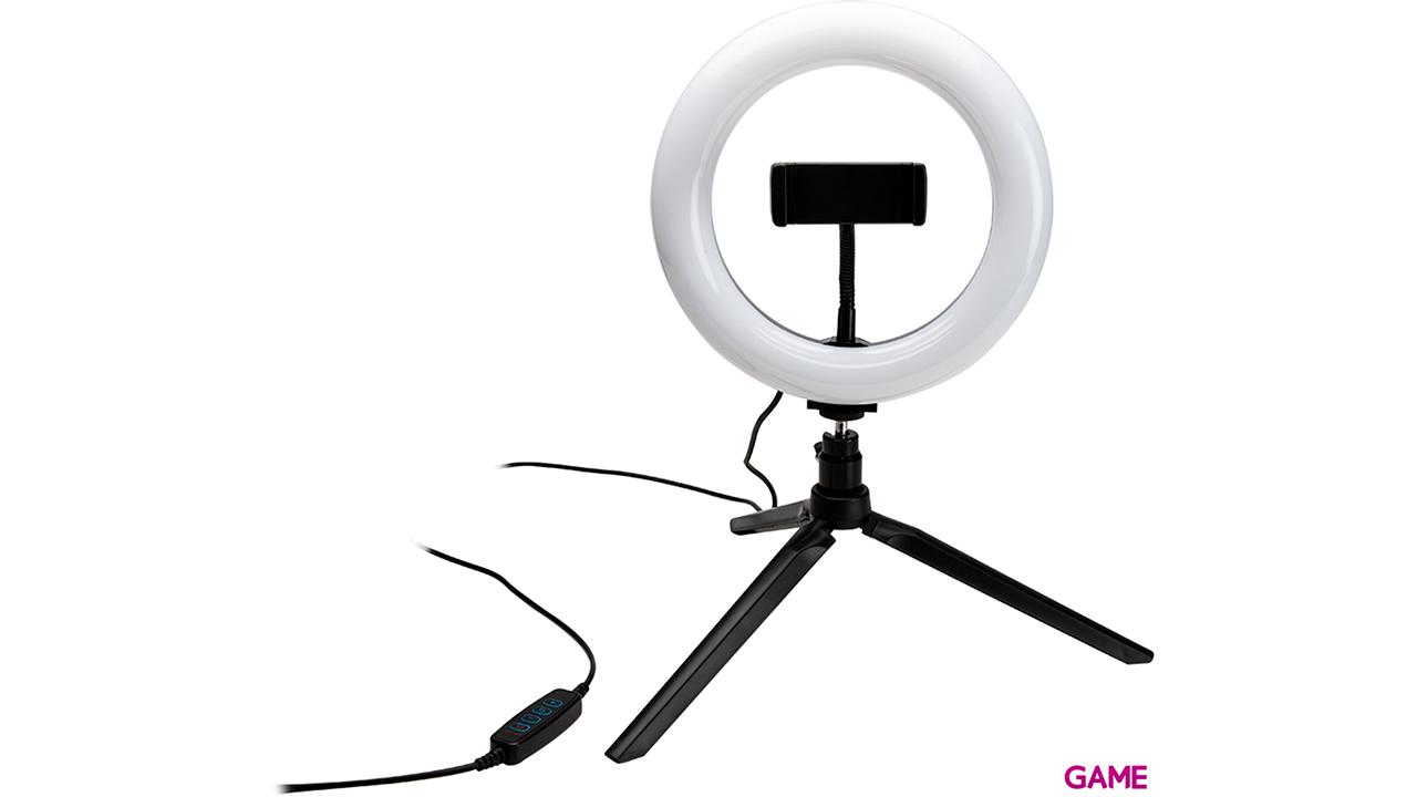 Kit Trípode y Luz de LED Vlogging