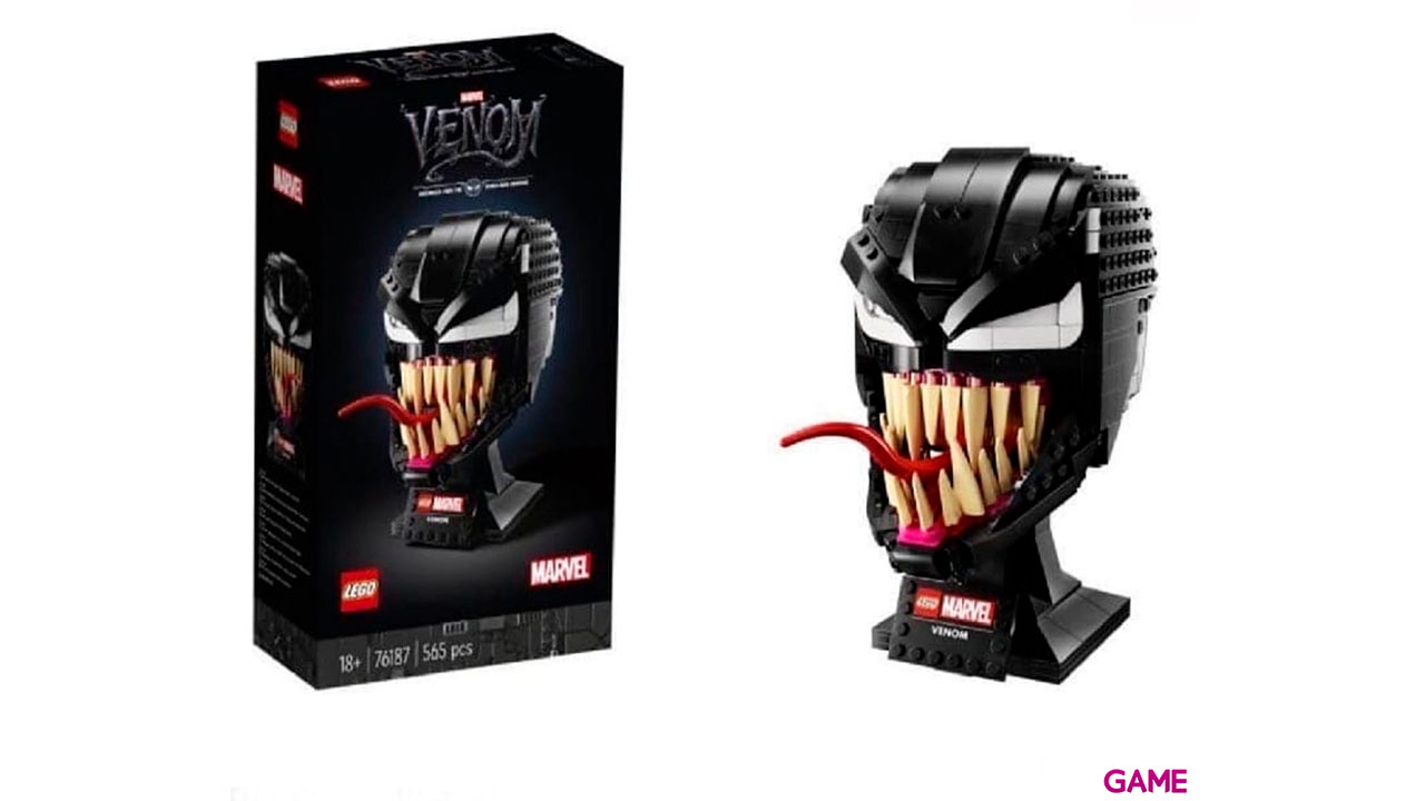 LEGO Super Heroes: Casco Venom