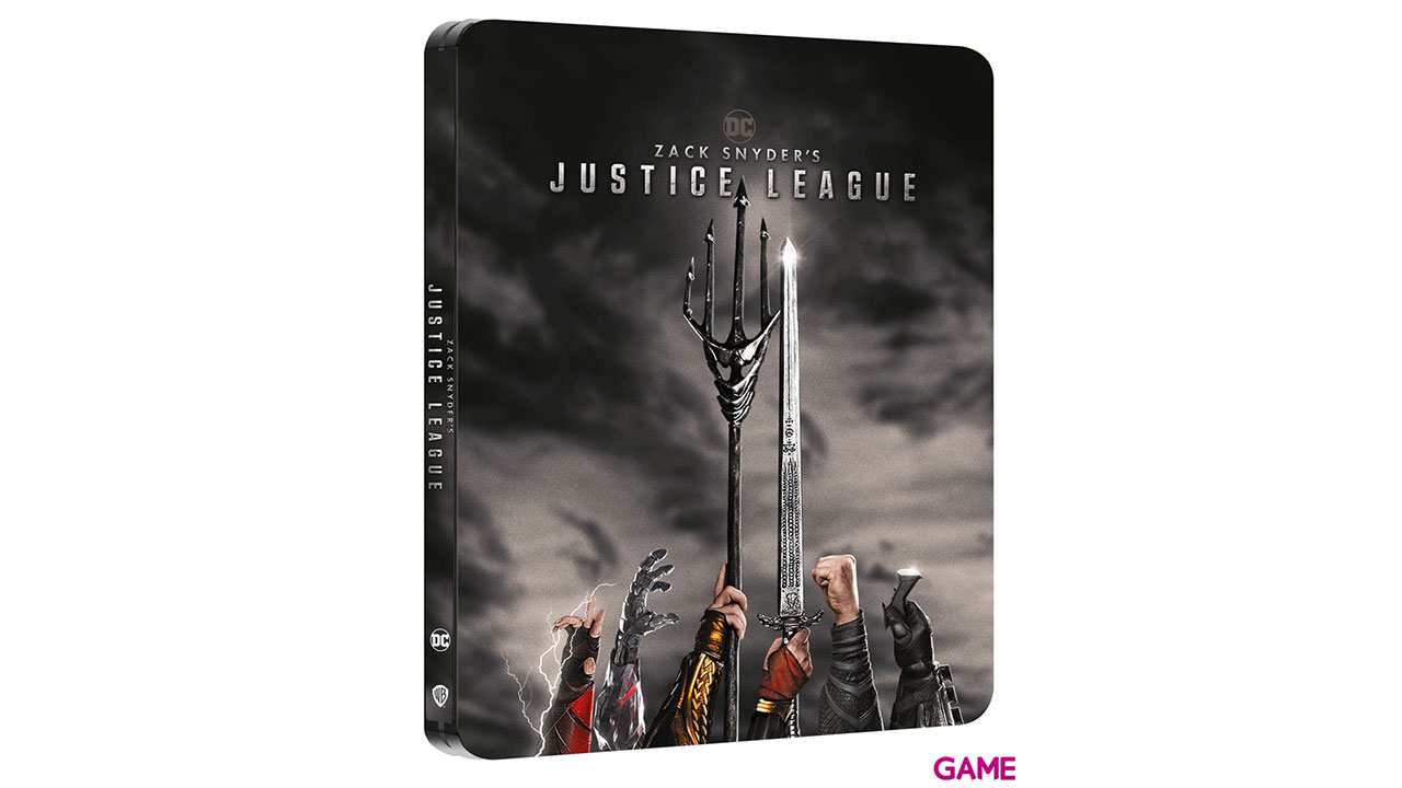 La Liga de la Justicia de Zack Snyder 4K Edición Steelbook