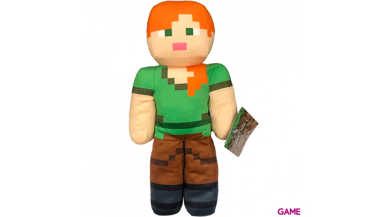 Peluche Minecraft 30cm: Alex