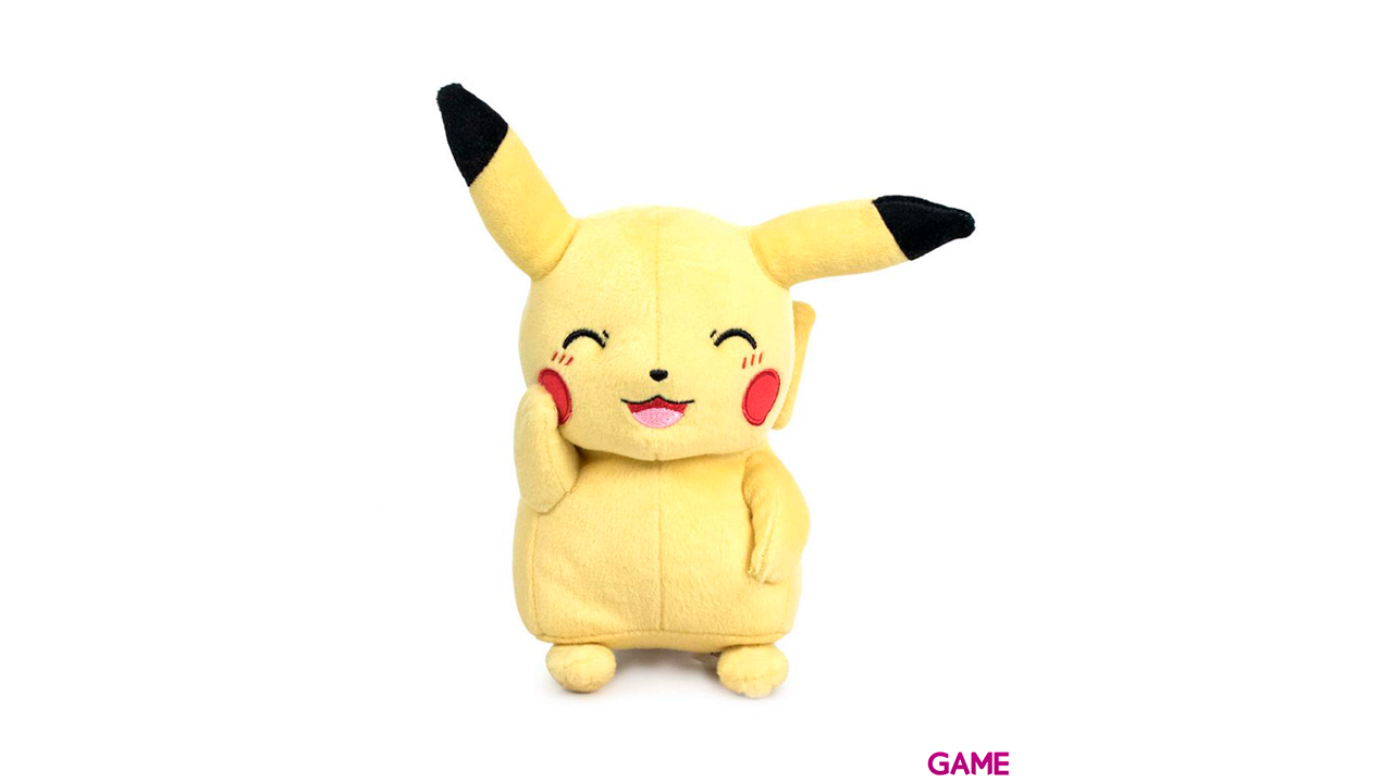 Peluche Pokemon 26cm: Pikachu
