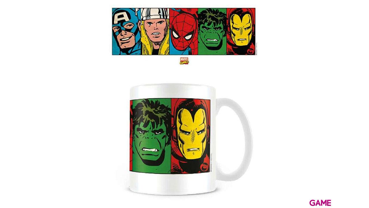 Taza Marvel Vengadores: Caras Clásicas