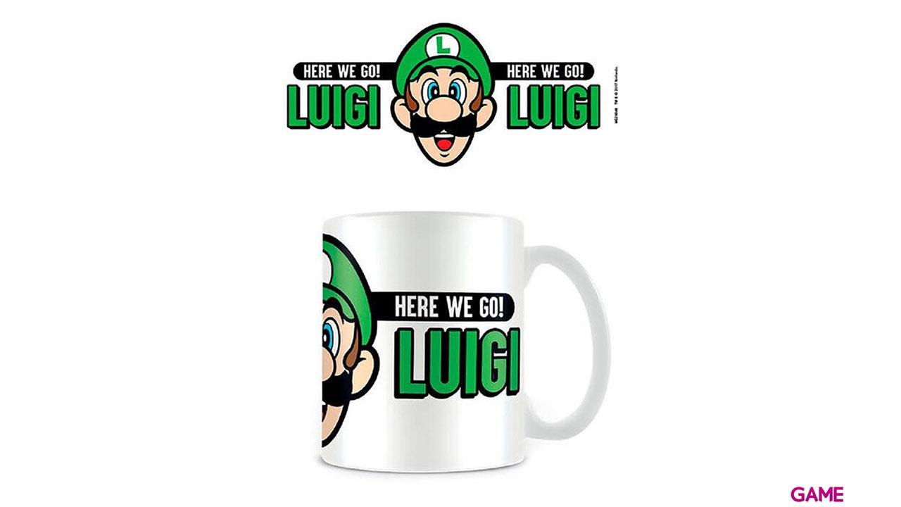 Taza Super Mario: Here We Go Luigi