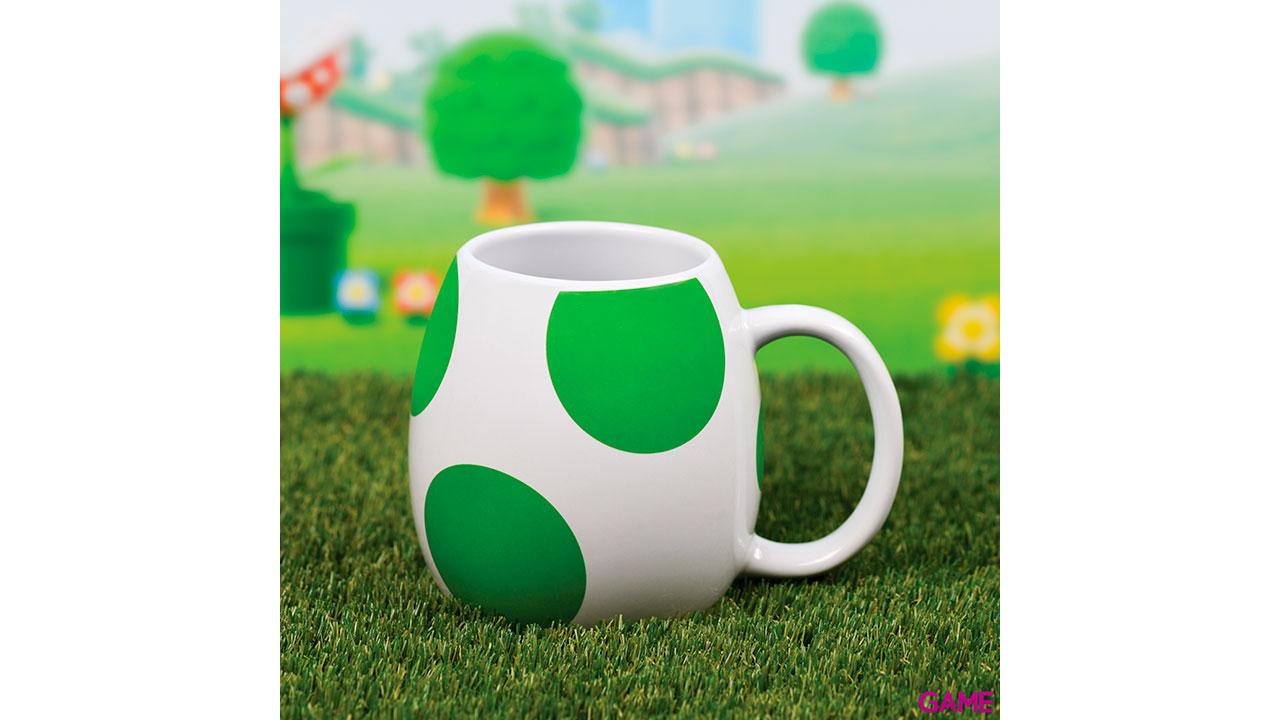 Taza 3D Super Mario: Huevo de Yoshi