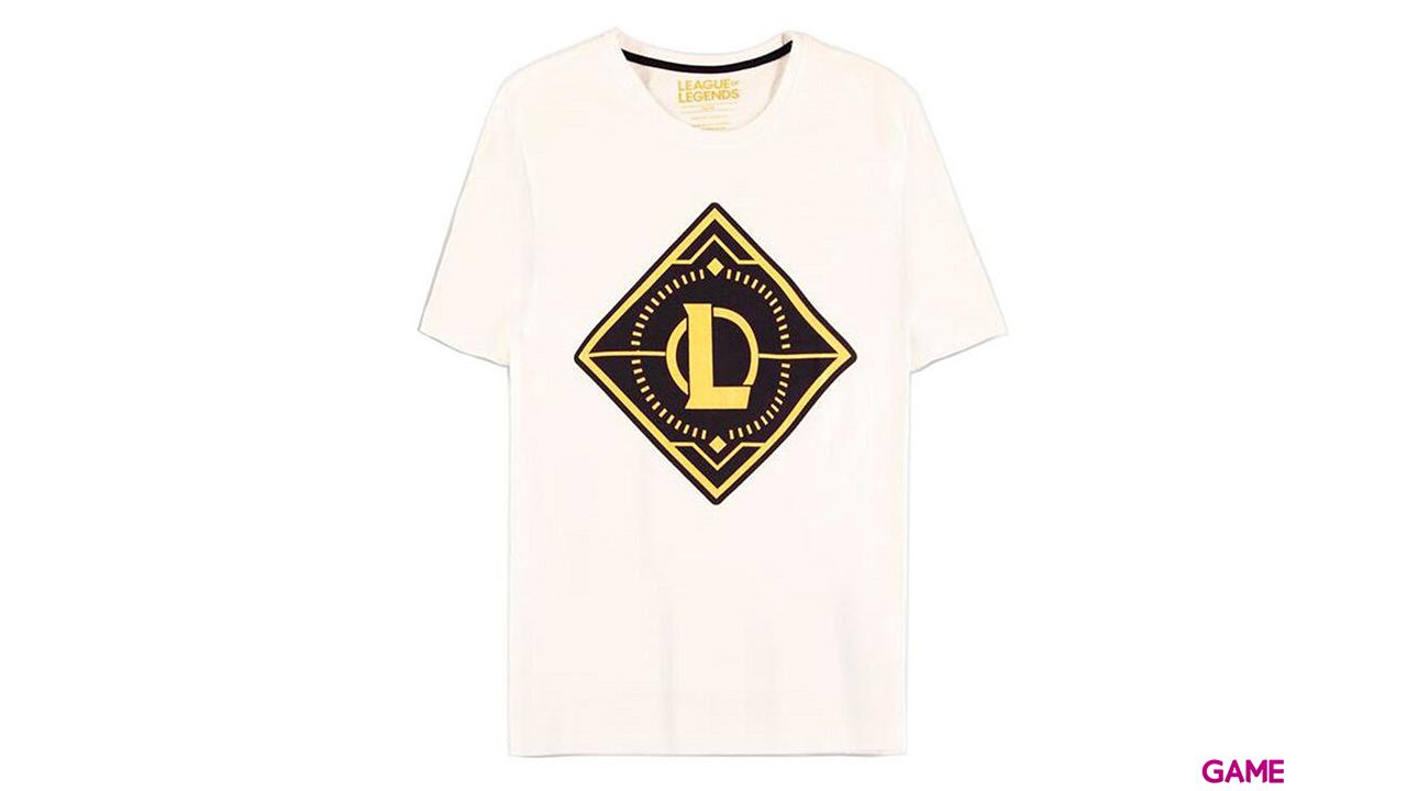 Camiseta League of Legends Blanca Talla M