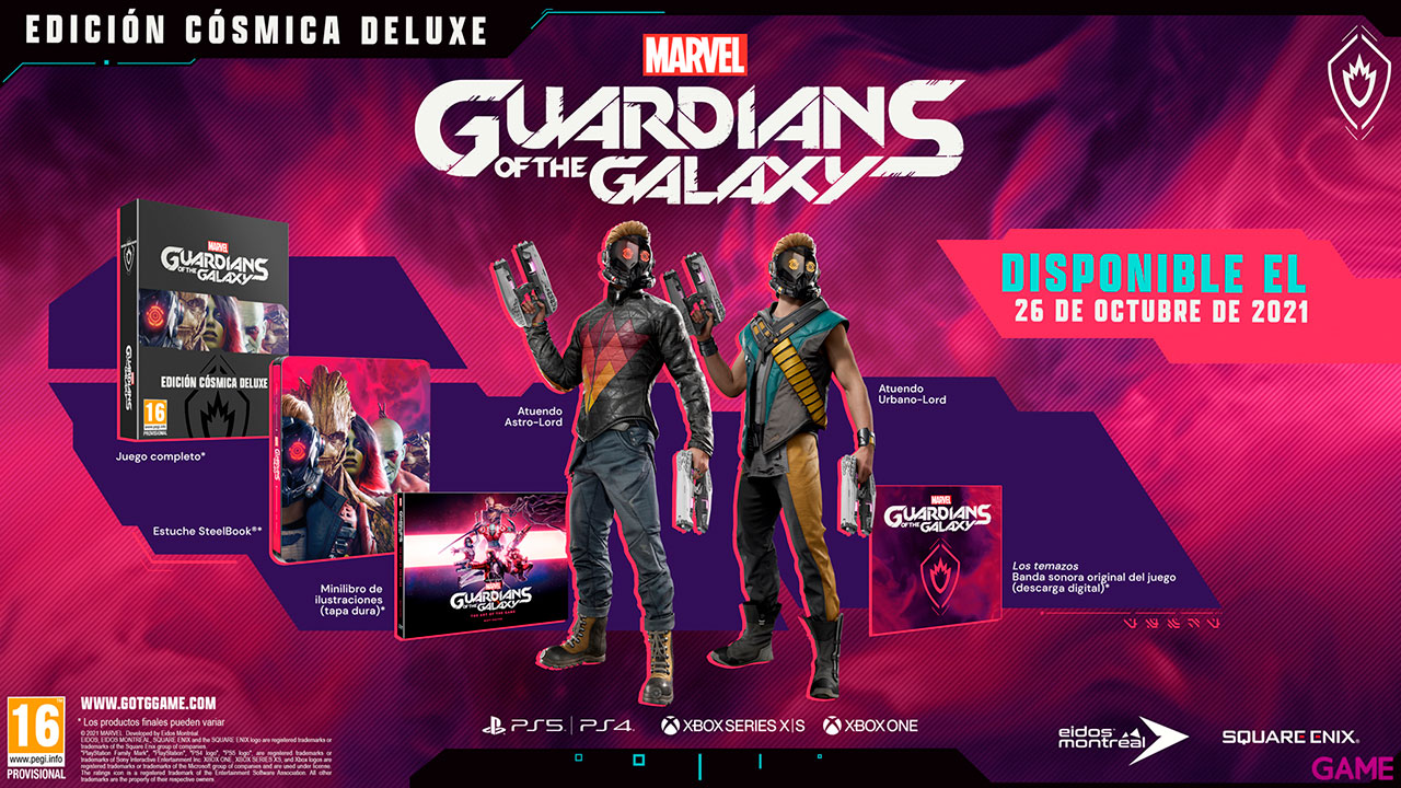 Marvel's Guardians of the Galaxy Edición Cósmica Deluxe