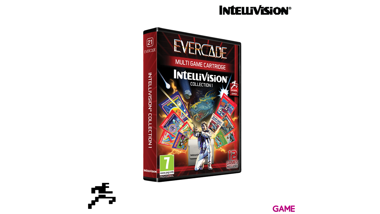 Cartucho Evercade Intellivision Collection 1
