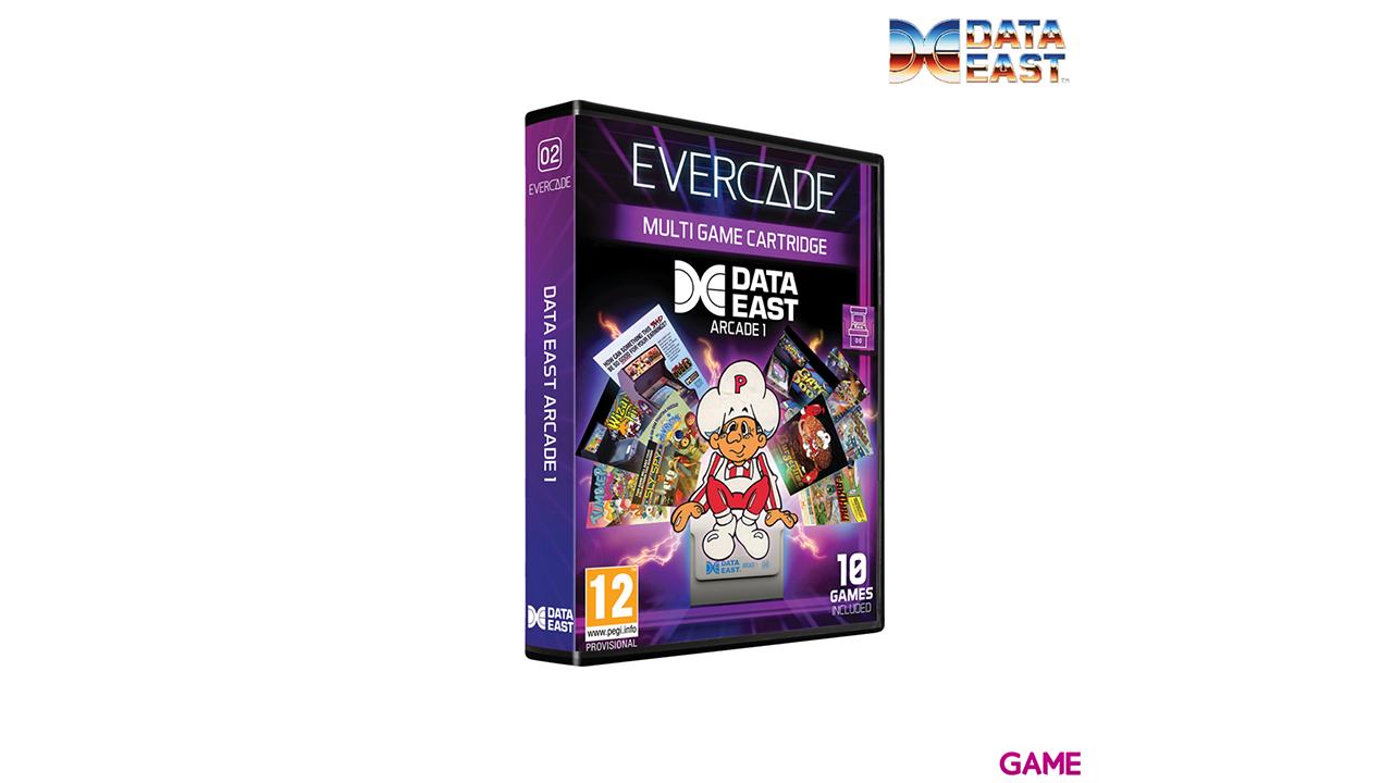 Cartucho Evercade Data East Arcade Cartridge 1