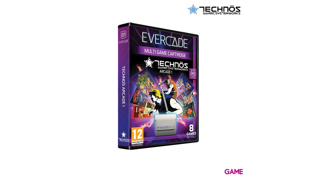 Cartucho Evercade Technos Arcade Cartridge 1