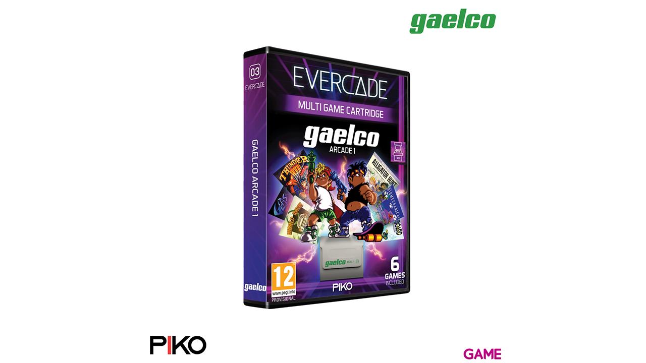 Cartucho Evercade Piko Gaelco Arcade Cartridge 1